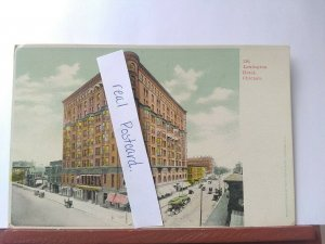 Vintage Postcard. Lexington Hotel. Chicago, Illinois.
