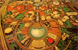 NY - New York World's Fair, 1964-65. Model of the Site