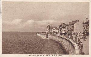 TUCK: MORECAMBE, Lancashire, England, United Kingdom; Sandlands Promenade, PU...