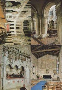 London Priory Church Of St Bartholomew The Great Interior 4x Postcard s