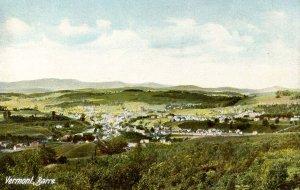 VT - Barre. Bird's Eye View