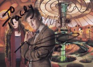 Matt Smith Dr Who BBC Hand Signed Photo