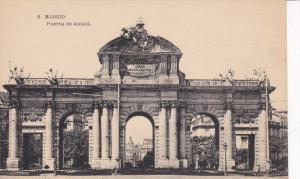MADRID, Spain, 1900-1910´s; Puerta De Alcala