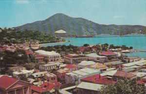St Thomas Charlotte Amalie Harbour From The Cunard Line