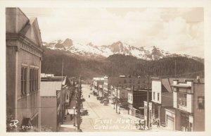 RP , CORDOVA , Alaska , 1930-40s ; First Avenue