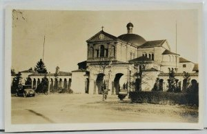 Washington DC RPPC Franciscan Monastery Early Auto Postcard M3