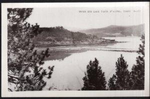 Idaho Upper End Lake COEUR d'ALENE - RPPC by Cecil C. Nixon