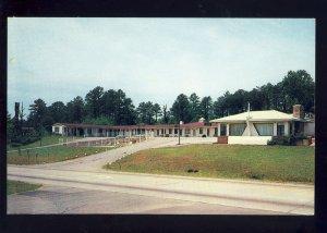 Asheville, North Carolina/NC Postcard, Singing Hills Motor Lodge, Highway 19