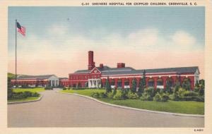 Shriners Hospital For Crippled Children, Greenville, South Carolina, 1930-1940s