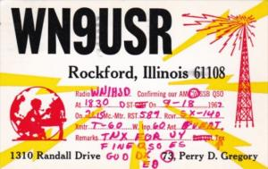 WN9USR Perry D Gregory Rockford Illinois 1967