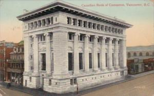 Canada Vancouver Canadian Bank Of Commerce 1911