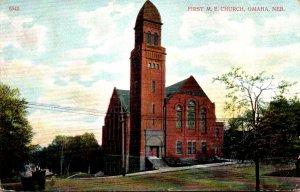 Nebraska Lincoln First Methodist Episcopal Church