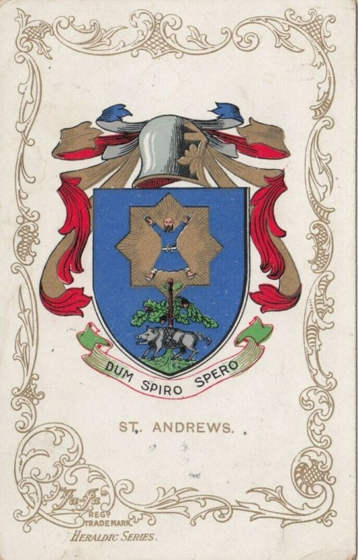 ST. ANDREWS , UK, 1907 ; Coat of Arms