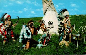 Oklahoma The Duel Dance Oto-Ponc Indian Dancers Of Oklahoma