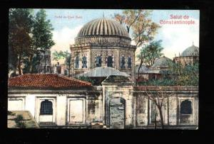 025181 TURKEY CONSTANTINOPLE Cheh Zade turbe Vintage PC