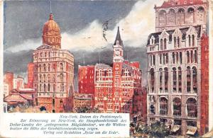 New York, Haupthandelsstadt, the main commercial city of the dollar country 1905