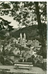 Luxembourg, Clervaux, Vue generale, 1955 used real photo