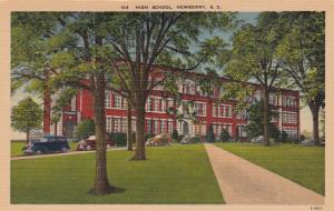 High School, Newberry, South Carolina, 1930-1940s