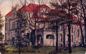 Davenport IA Bag & Paper Company~Nelson Abel~Moline IL Stone City Hospital 1911