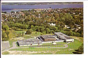 Aerial View, Champlain Secondary School, Pembroke, Ontario, 1968 Local Cancel...