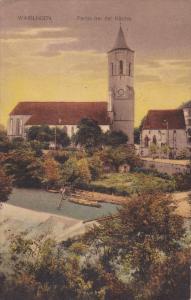 WAIBLINGEN (Baden-Wurttemberg), Germany, 1900-1910s; Partie Bei Der Kirche