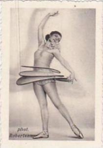 GARBATI CIGARETTE CARD FAMOUS DANCERS NO 65 DAISY SPIES