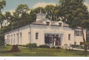 Florida Orange Park Administration & Community Building At Mooseheart Curteich