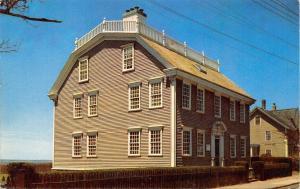 Newport Rhode Island~Cape Cod Hunter House w/Gambrel Roof~1950s Postcard
