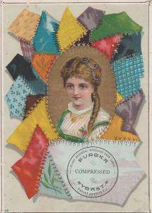 Victorian Trade Card - Eureka - Henry Tauszky Compressed Yeast