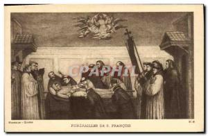 Old Postcard Funerals S Francois