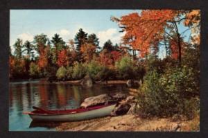 PQ View of Boat in BELOEIL QUEBEC CANADA Postcard PC Carte Postale QC
