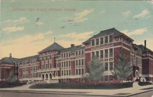 Exterior, Jefferson High School, Portland, Oregon,  PU_1912