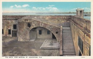 ST. AUGUSTINE, Florida, 1900-1910's; The Arch, Fort Marion
