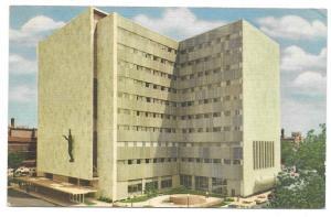 Mayo Clinic Building Rochester Minnesota Vntg Linen Postcard
