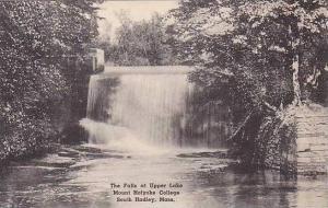 Massachusetts South Hadley Mount Holyoke College The Falls At Upper Lake Albe...