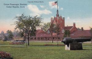 Iowa Cedar Rapids Union Passenger Station Curteich