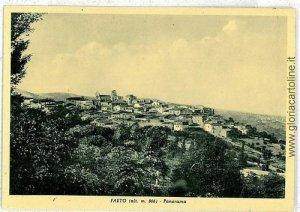 07866 - CARTOLINA d'Epoca - FOGGIA: FAETO