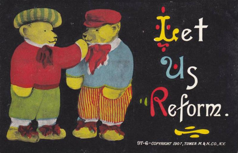 Won´t you join us, Teddy Bears in clothes, PU-1907