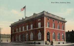 GUTHRIE , Oklahoma , 1900-10s ;  Post Office