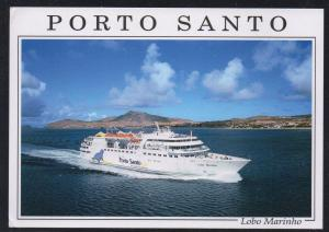 Ship Lobo Marinho Porto Santo Lines colour PC  unused