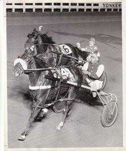 YONKERS RACEWAY, Horse Race, Mandate, 1975
