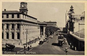 Double-Decker Bus, Gardiner Street, Durban, South Africa, 1900-1910s
