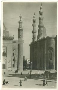 Egypt, Cairo, Kairo, Sultan Hassan Mosque, unused Real Photo