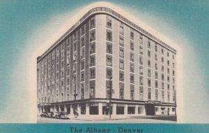 DENVER , Colorado , 1930-40s ; The Albany Hotel