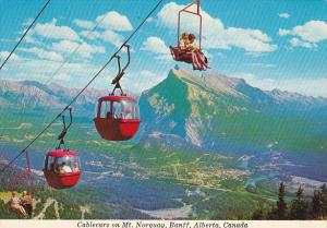 Canada Cablecars on Mt Norquay Banff Alberta