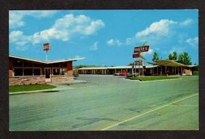 ID Sunset Motel & Cafe MONTPELIER IDAHO Postcard PC