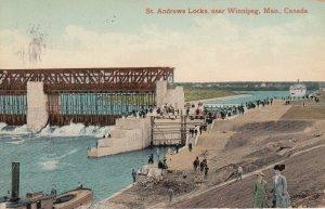 WINNIPEG , Manitoba , Canada , 00-10s ; St Andrews Locks