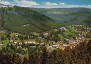 Germany Staatsbad Wildbad Im Schwarzwald Totalansicht
