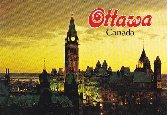 Canada Houses of Parliament Ottawa Ontario
