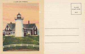 A CAPE COD Windmill (Lighthouse) , Massachusetts, 30-40s